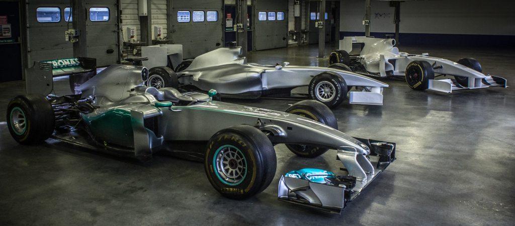 Our F1 Garage