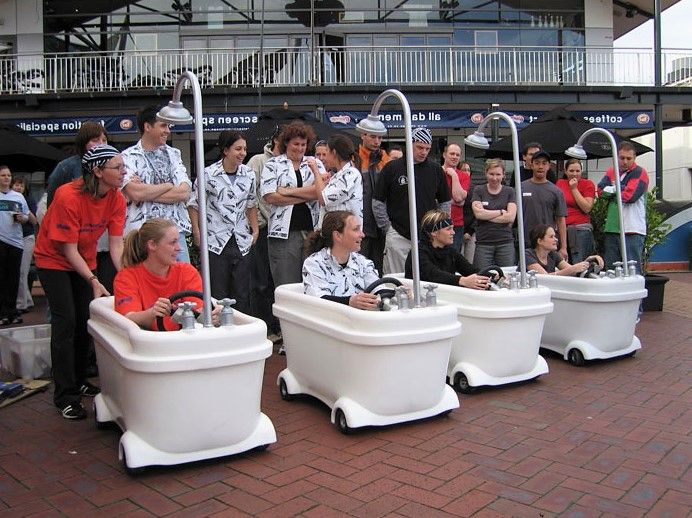 Bath Tub Racing Experience