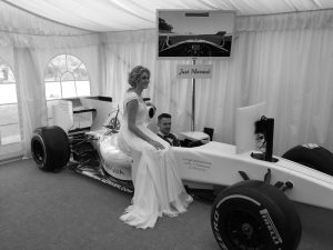 Just Married - Max Velocity Wedding Venue